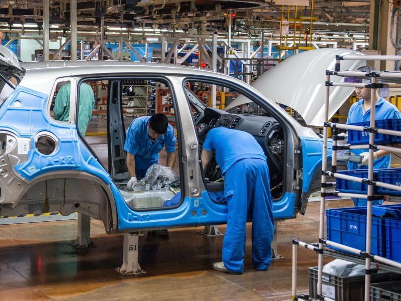 Bild zu VW in China