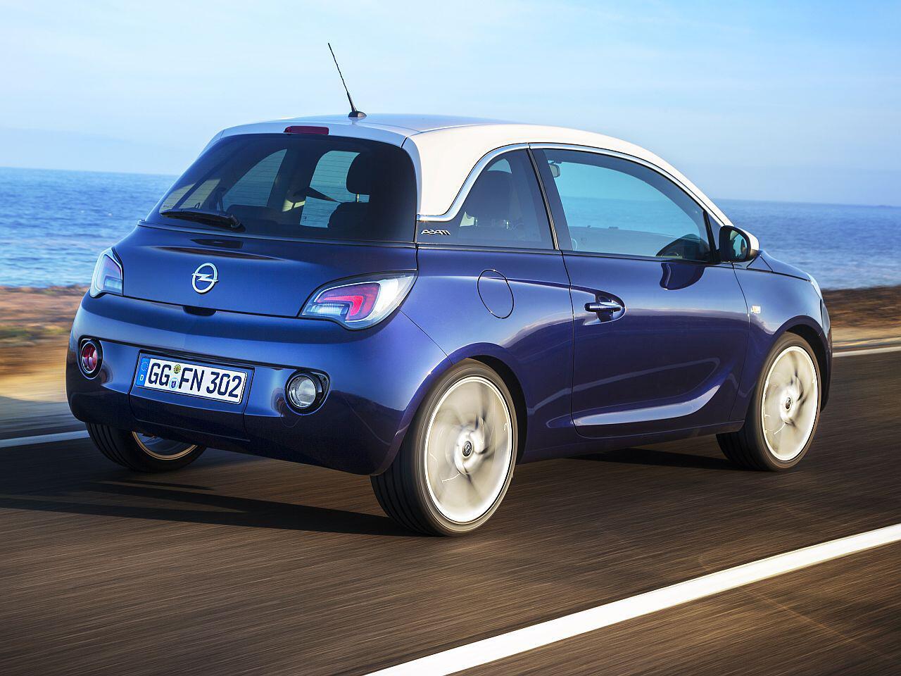 Bild zu Platz 2: Opel Adam
