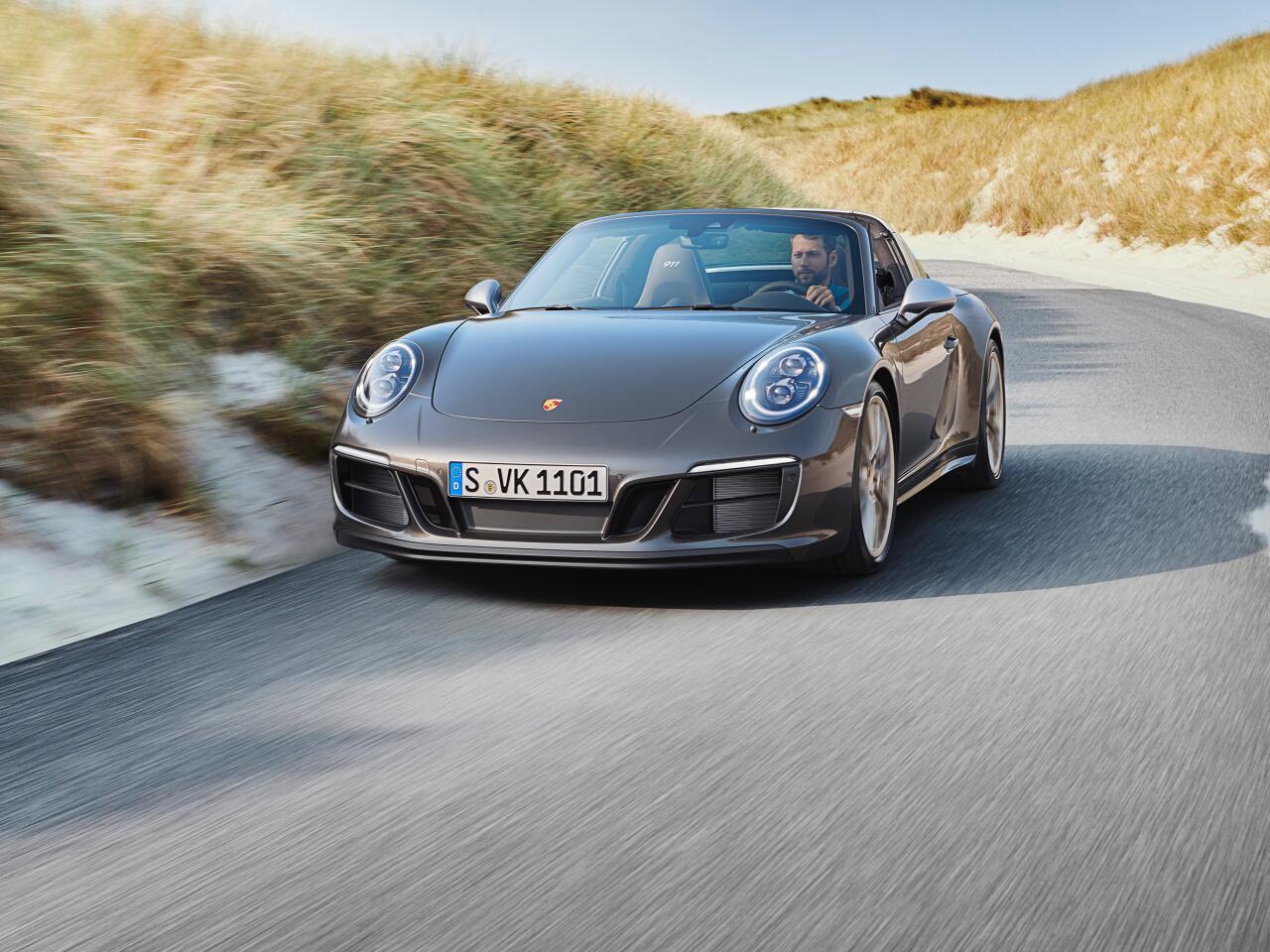 Bild zu Ein Porsche für Sylt: Porsche 911 Targa 4 GTS Exclusive Manufaktur Edition