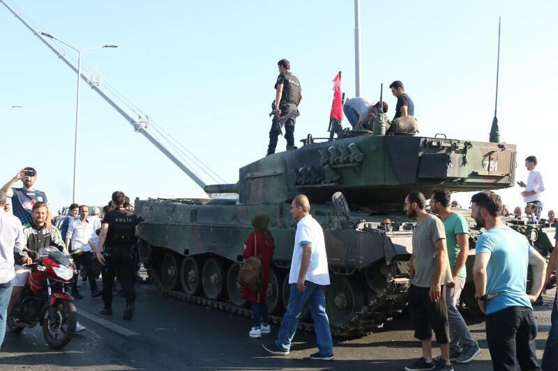 Panzer in der Türkei