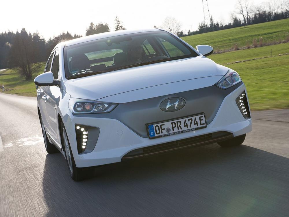 Bild zu Platz 10: Hyundai Ioniq Elektro