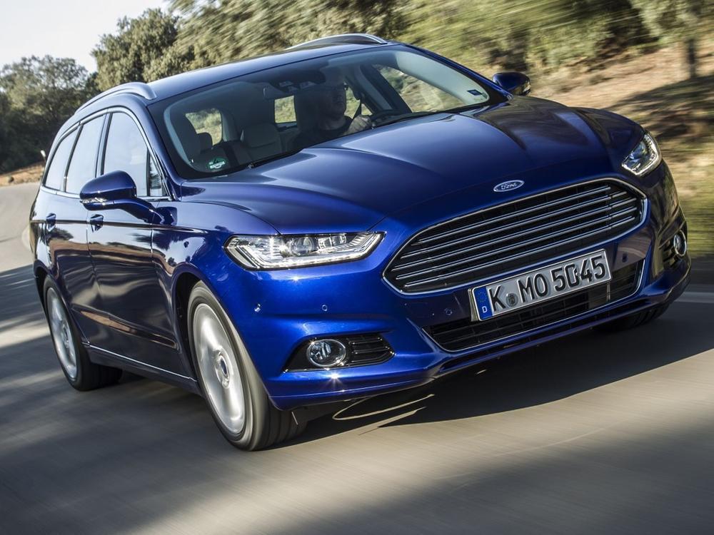 Bild zu Platz 1: Ford Mondeo 2.0 Duratorq TDCi