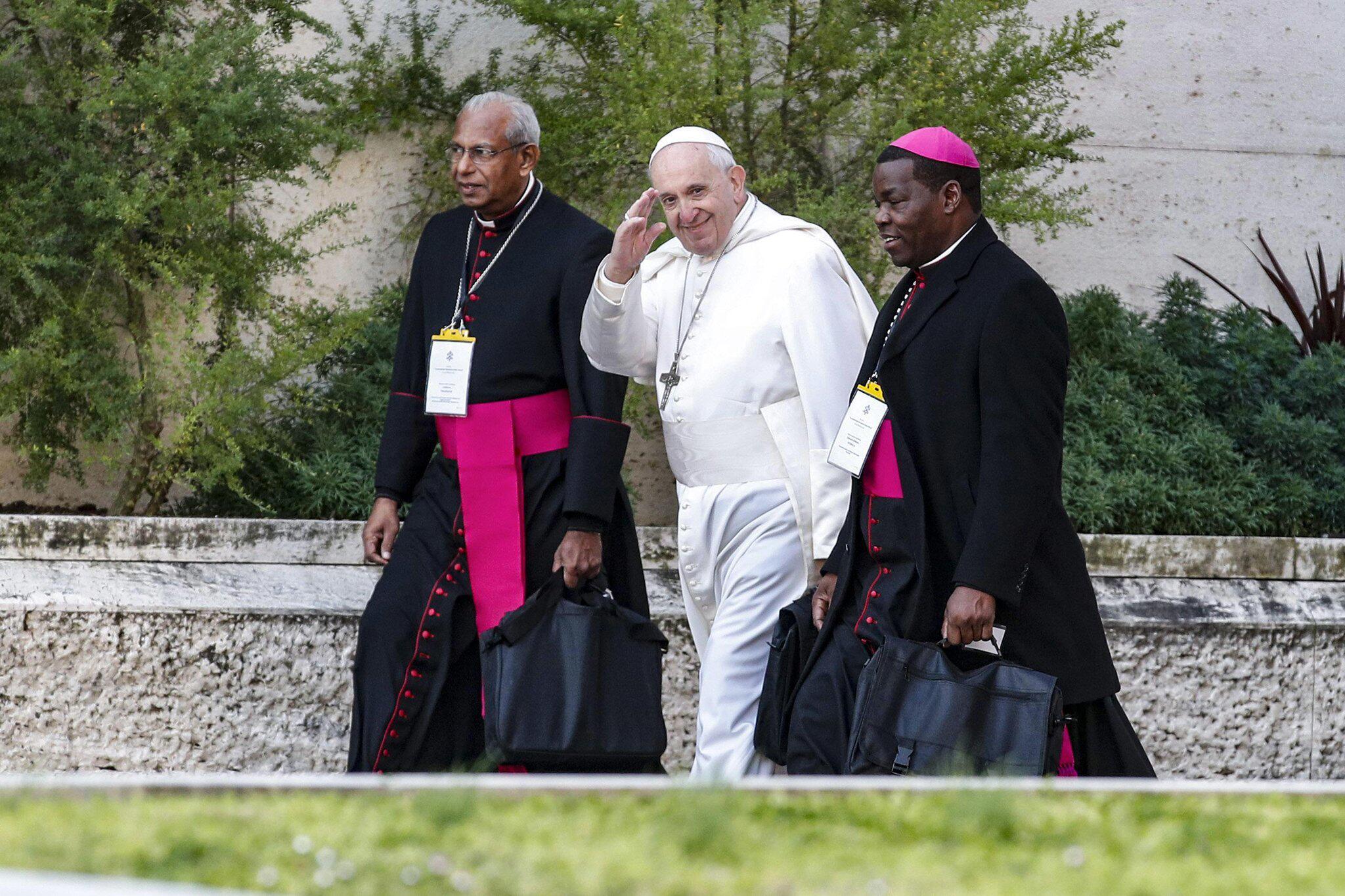 Bild zu Gipfeltreffen zum Thema Missbrauch mit Papst Franziskus