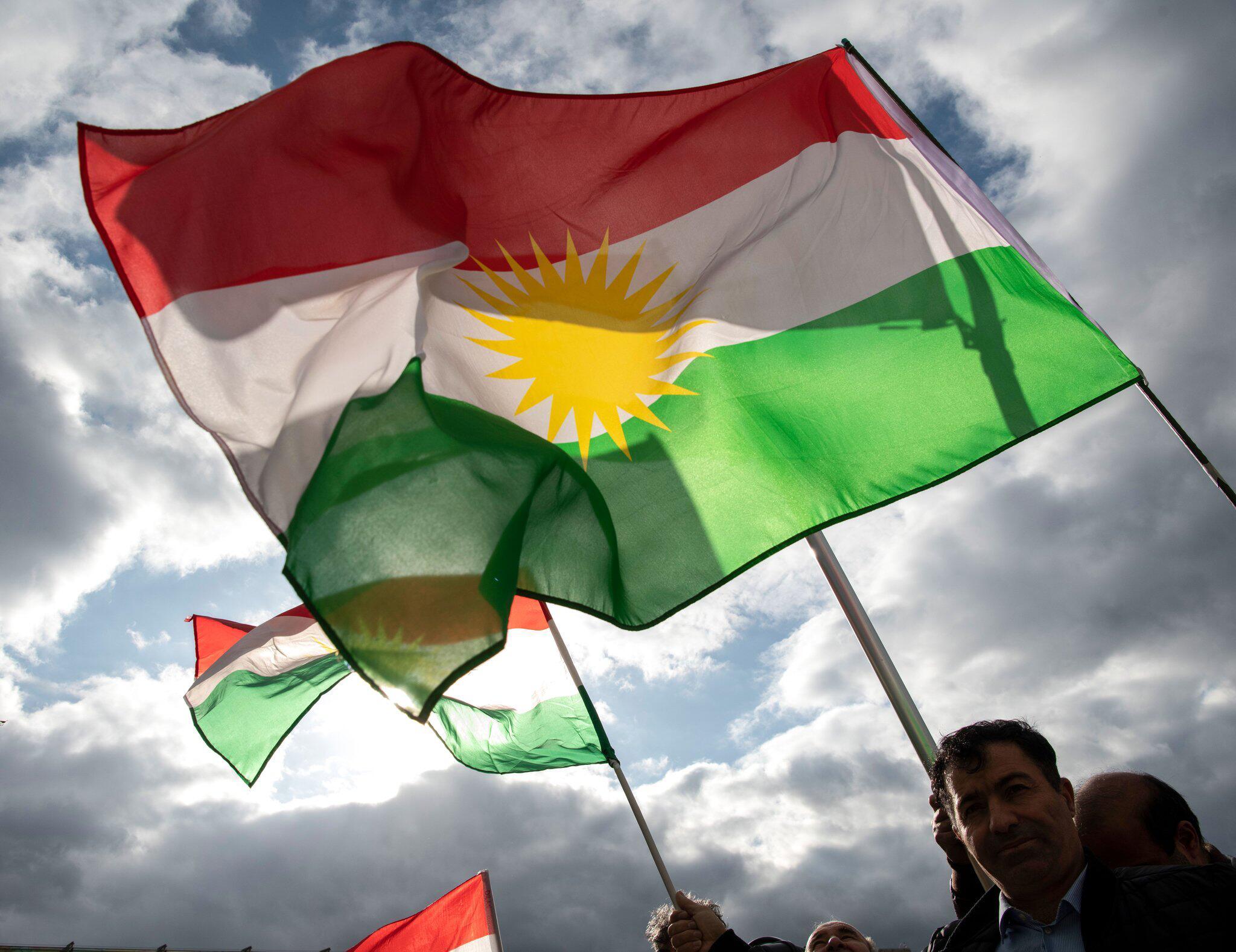 Bild zu Protest gegen Einmarsch türkischer Truppen in Syrien