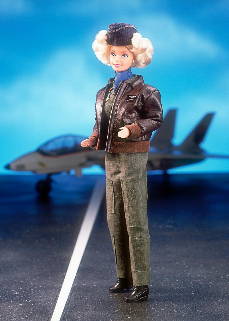 Bild zu 1991 - Air Force One - Barbie
