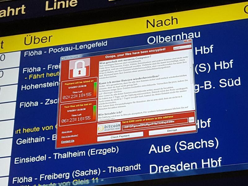 Bild zu Weltweite Cyber-Attacke