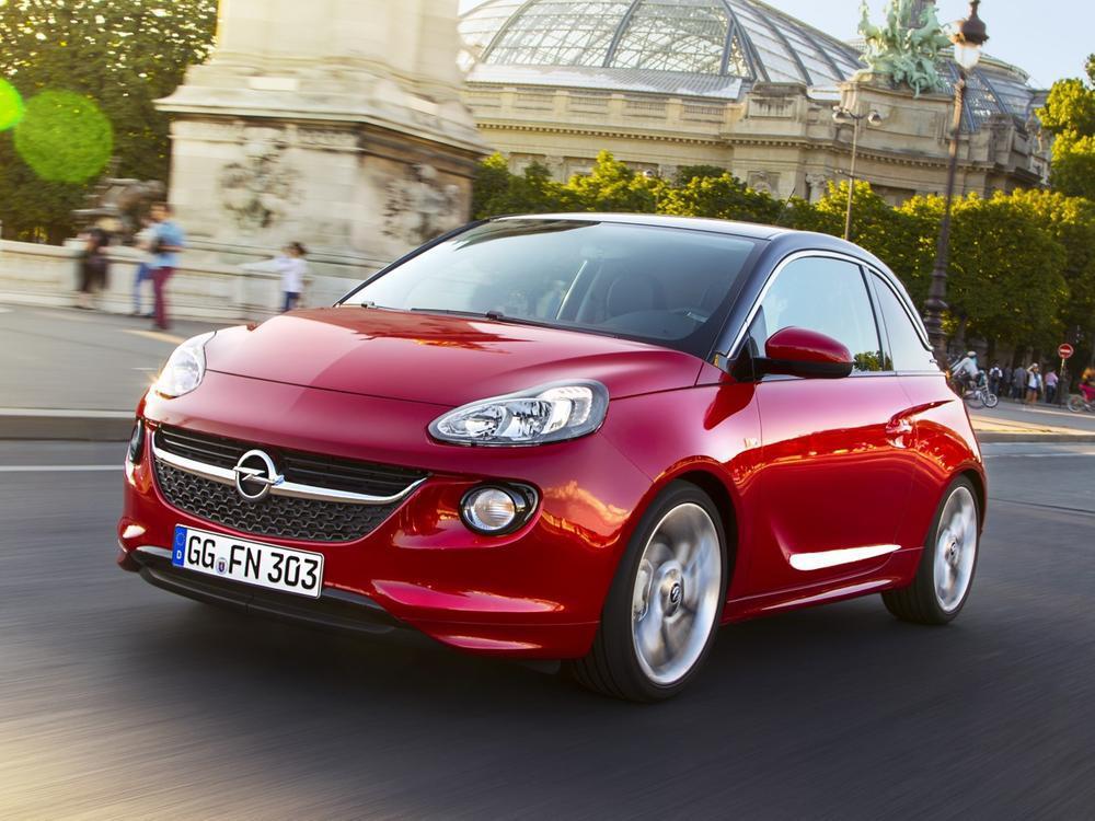 Bild zu Minis: Platz 3 - Opel Adam