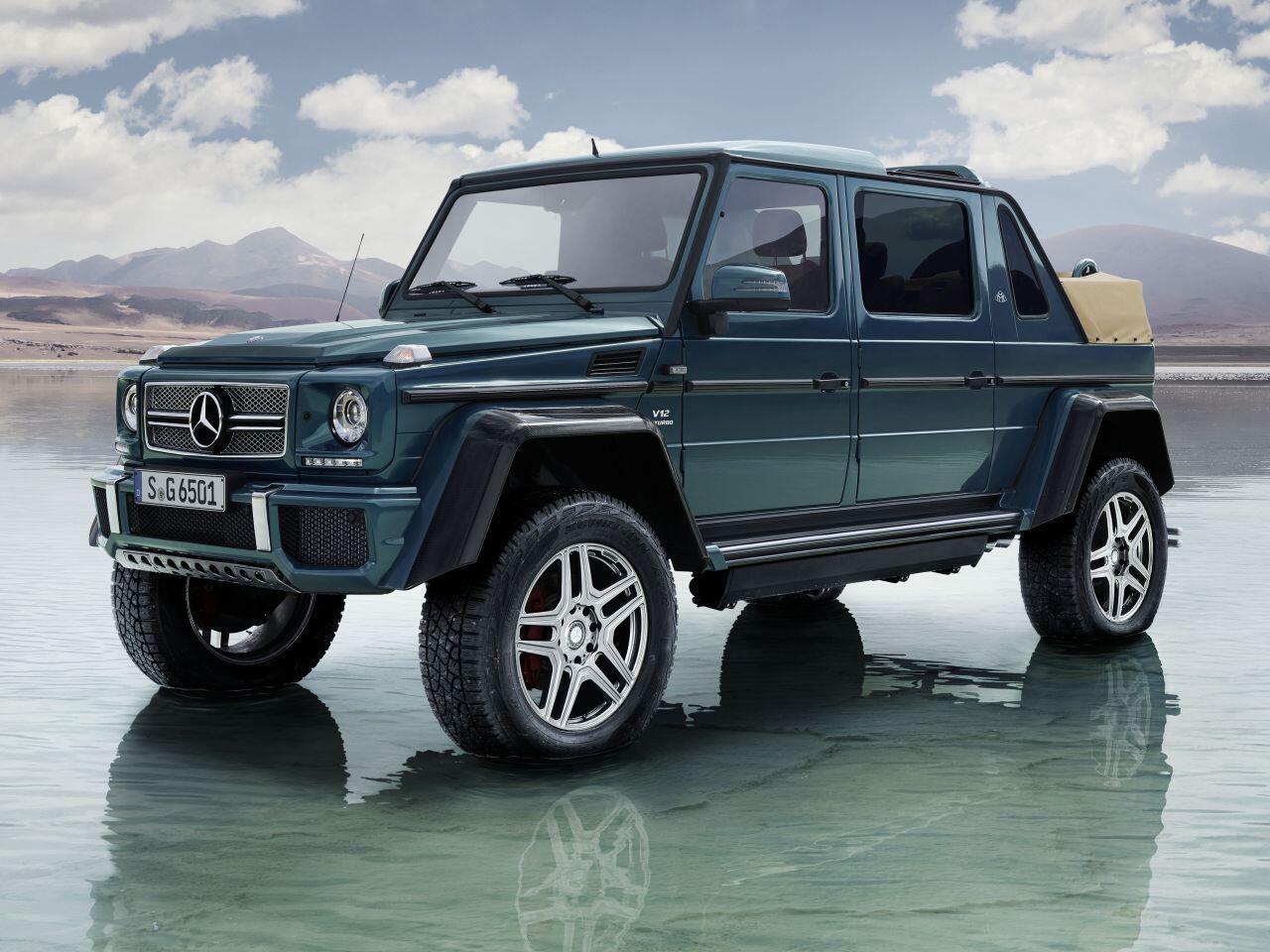 Bild zu Mercedes-Maybach G 650 Landaulet