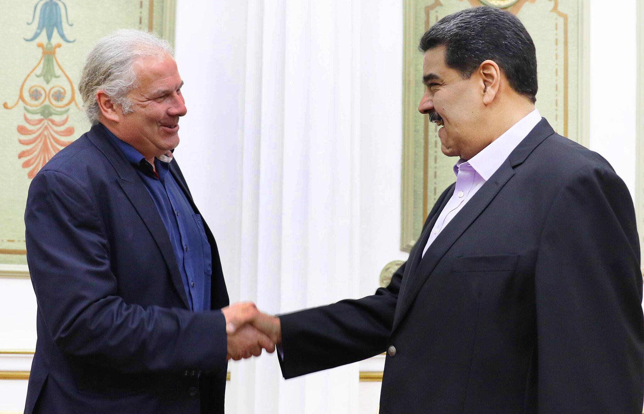 Bild zu Andrej Hunko zu besuch in Venezuela