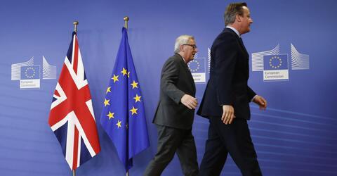 Brexit, EU, Juncker, Cameron
