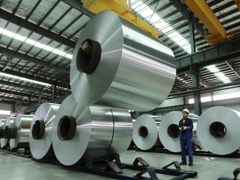 Bild zu Aluminiumproduktion