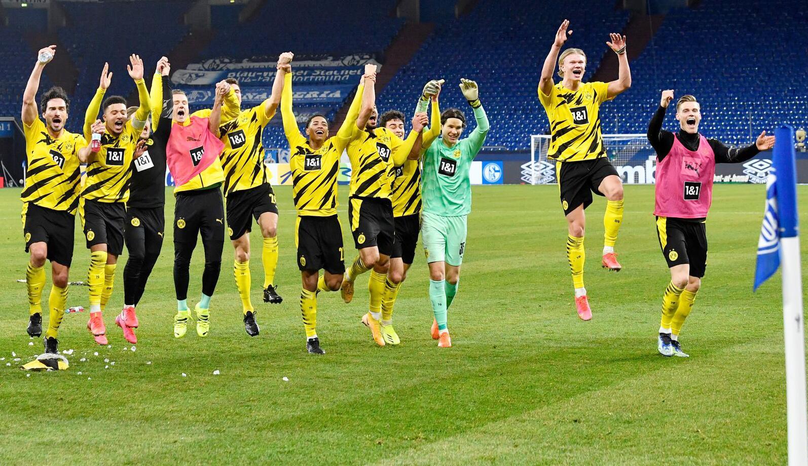 Bild zu FC Schalke 04 - Borussia Dortmund