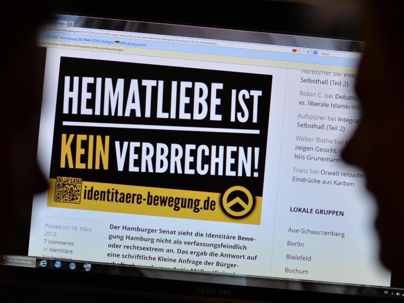 Bild zu Rechtsextremistische Webseiten