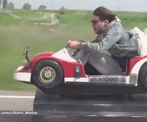 Kinderauto fährt 90 Kmh