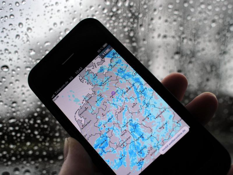 Bild zu Wetter-Apps