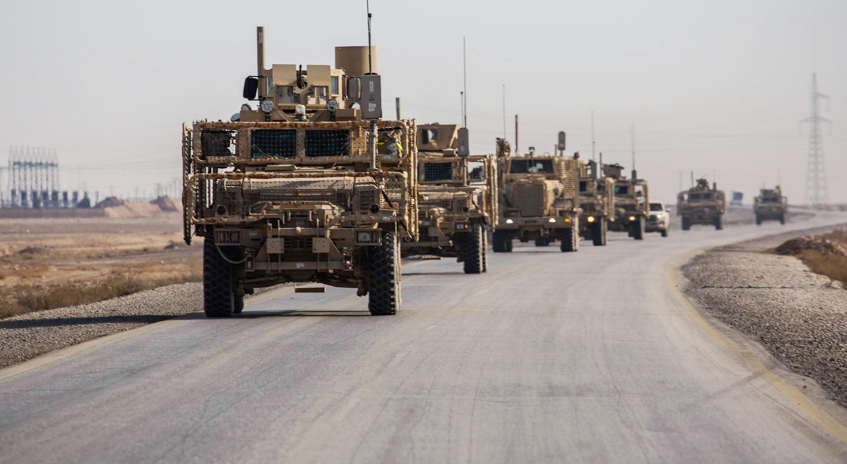 Bild zu US-Army Konvoi