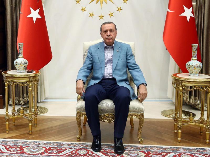 Bild zu Staatspräsident Recep Tayyip Erdogan