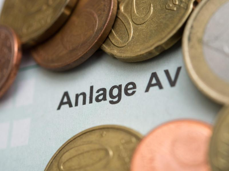 Bild zu Ausgaben für die Vorsorge - Anlage AV