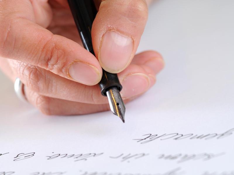 Bild zu Tagebuch schreiben