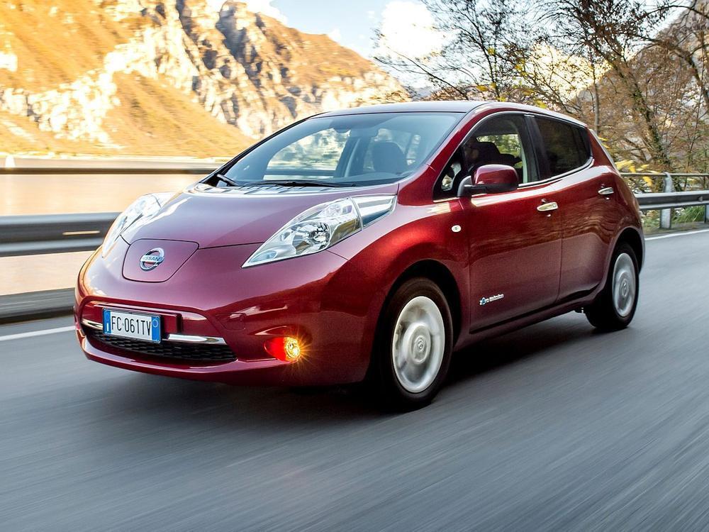Bild zu Platz 9: Nissan Leaf