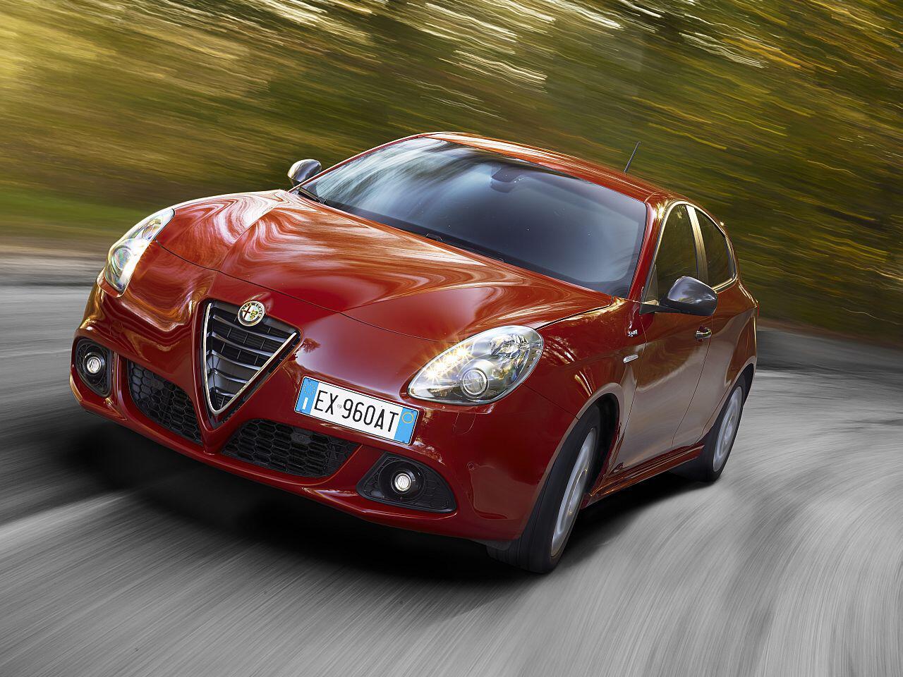 Bild zu 12. Platz: Alfa Romeo Giulietta