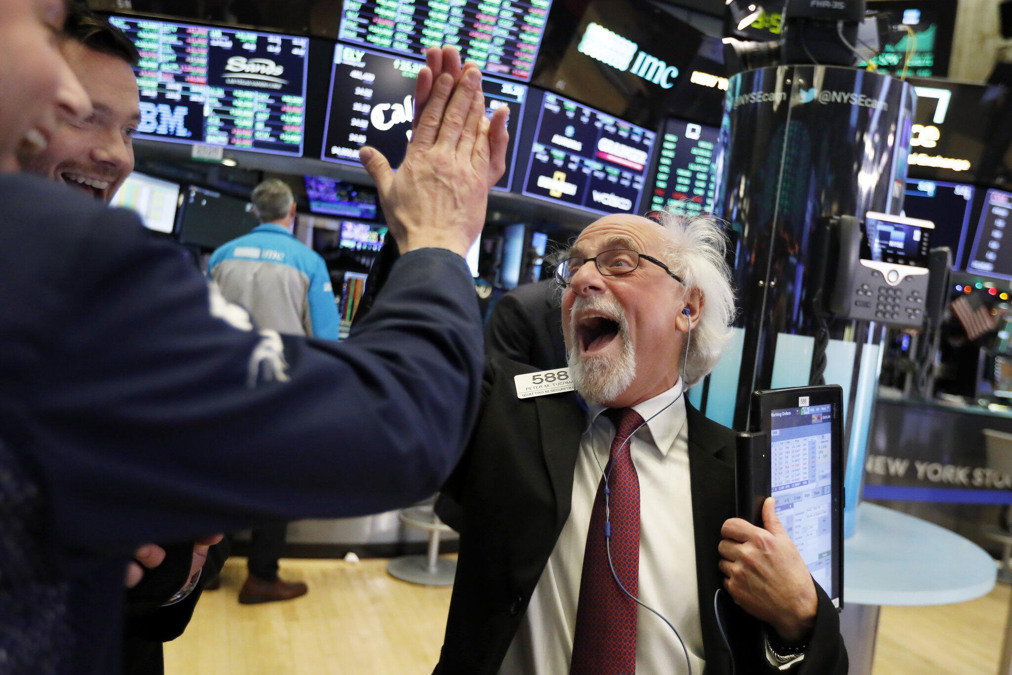 Bild zu Kaufrausch an der Wall Street