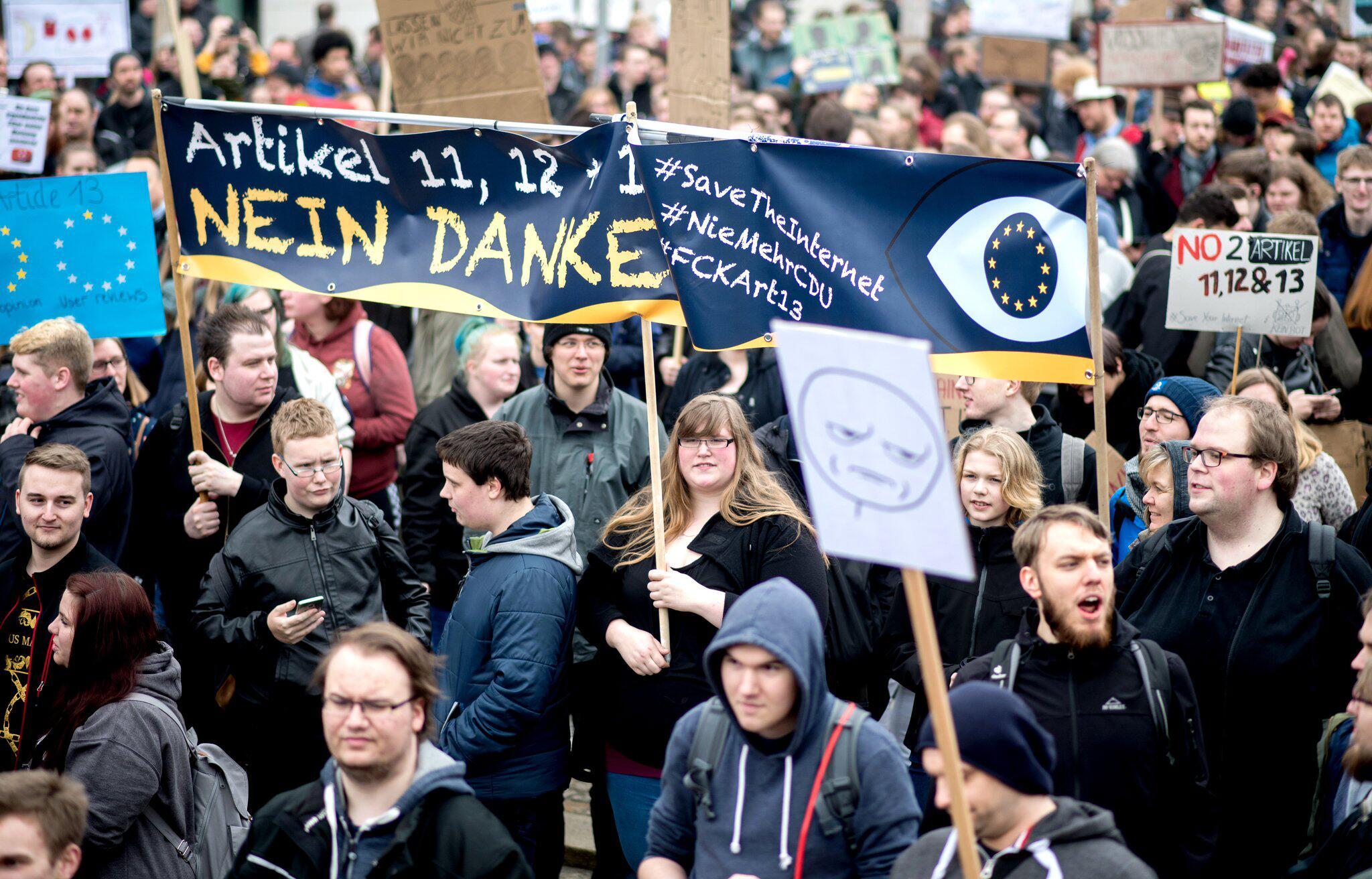 Bild zu Protest gegen neues Urheberrecht - Hannover