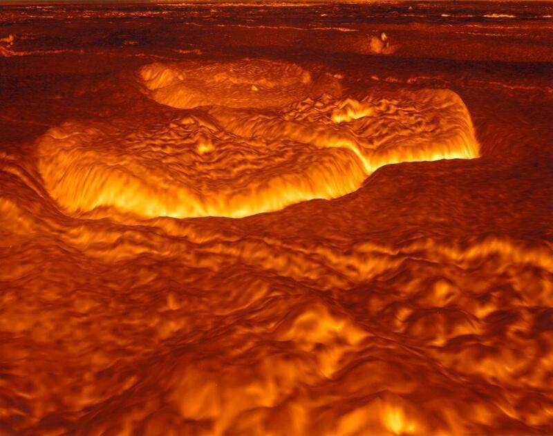 Bild zu Oberfläche der Venus