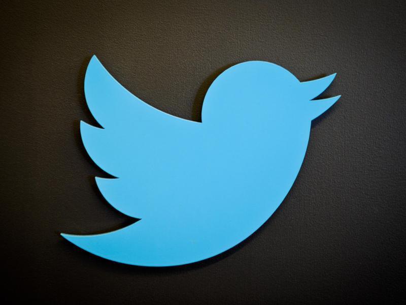 Bild zu Logo des Kurznachrichtendienstes Twitter
