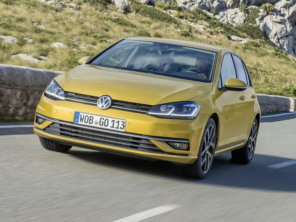 Bild zu Kompaktklasse: Platz 1 - VW Golf