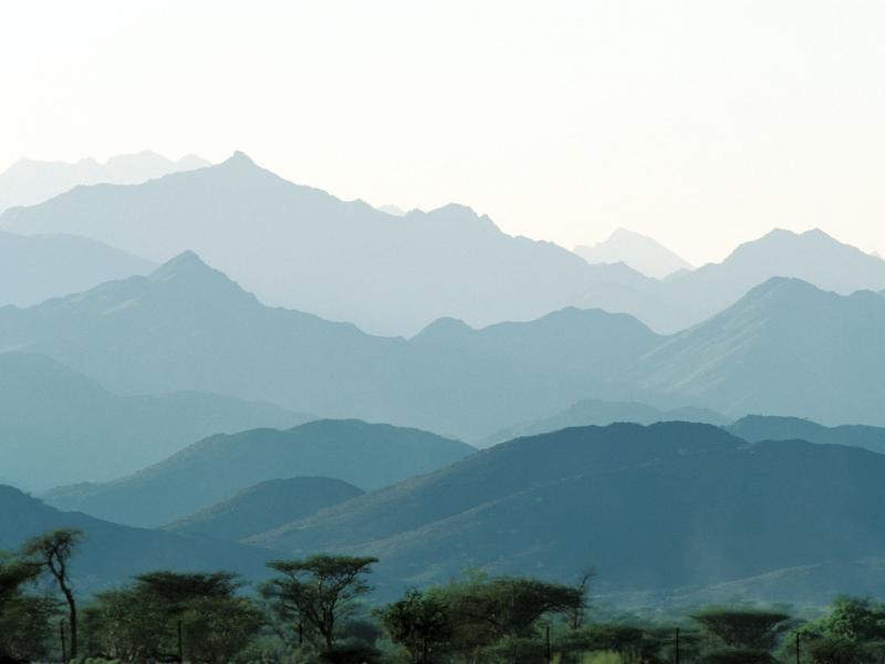 Bild zu Berge im Süden Omans