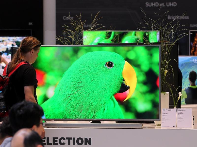Bild zu Fernseher im Test