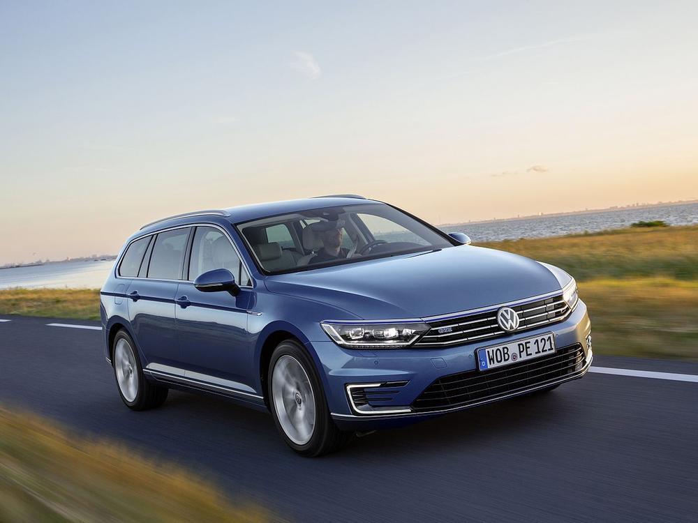 Bild zu Mittelklasse: Platz 1 - VW Passat