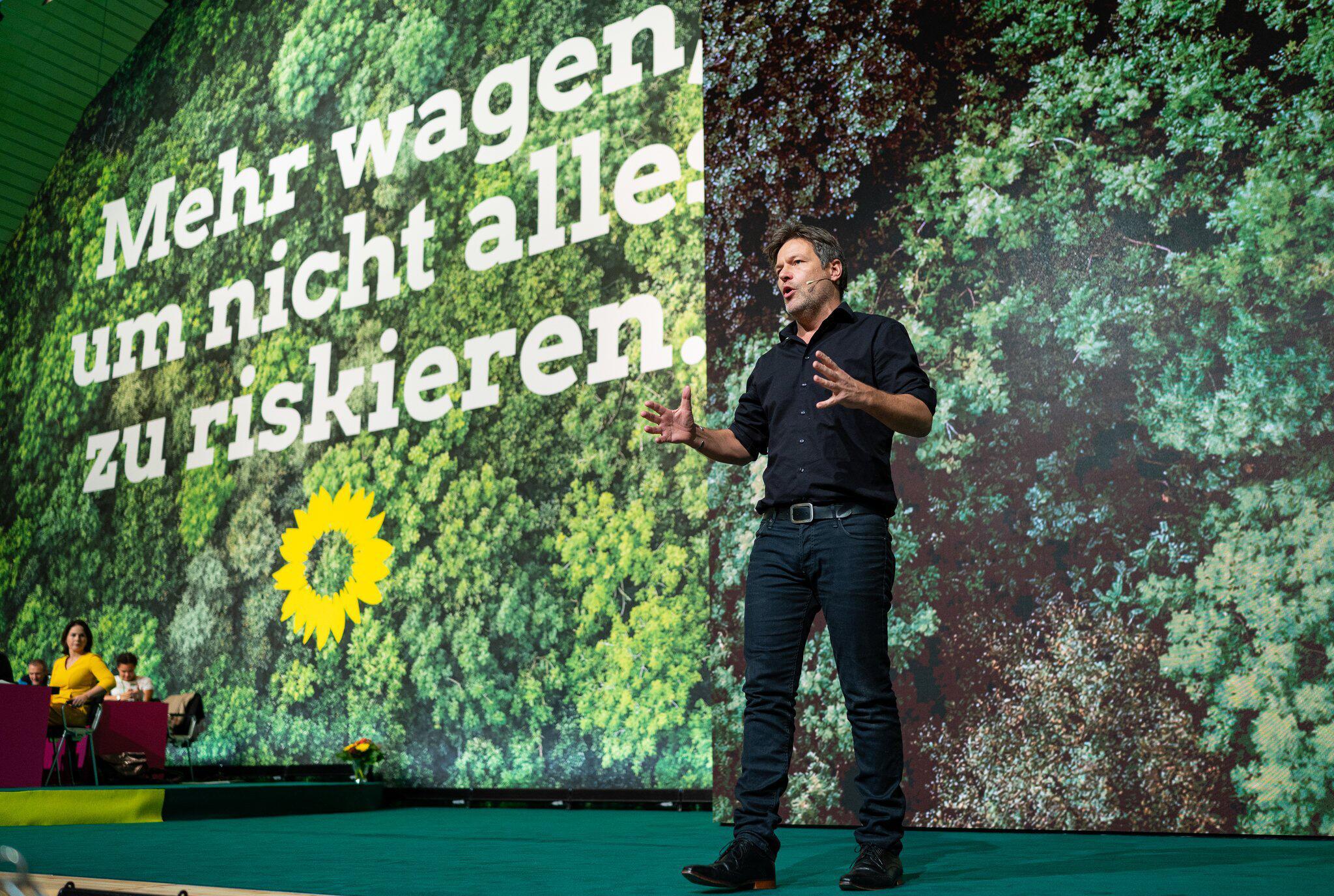 Bild zu Bundesparteitag der Grünen