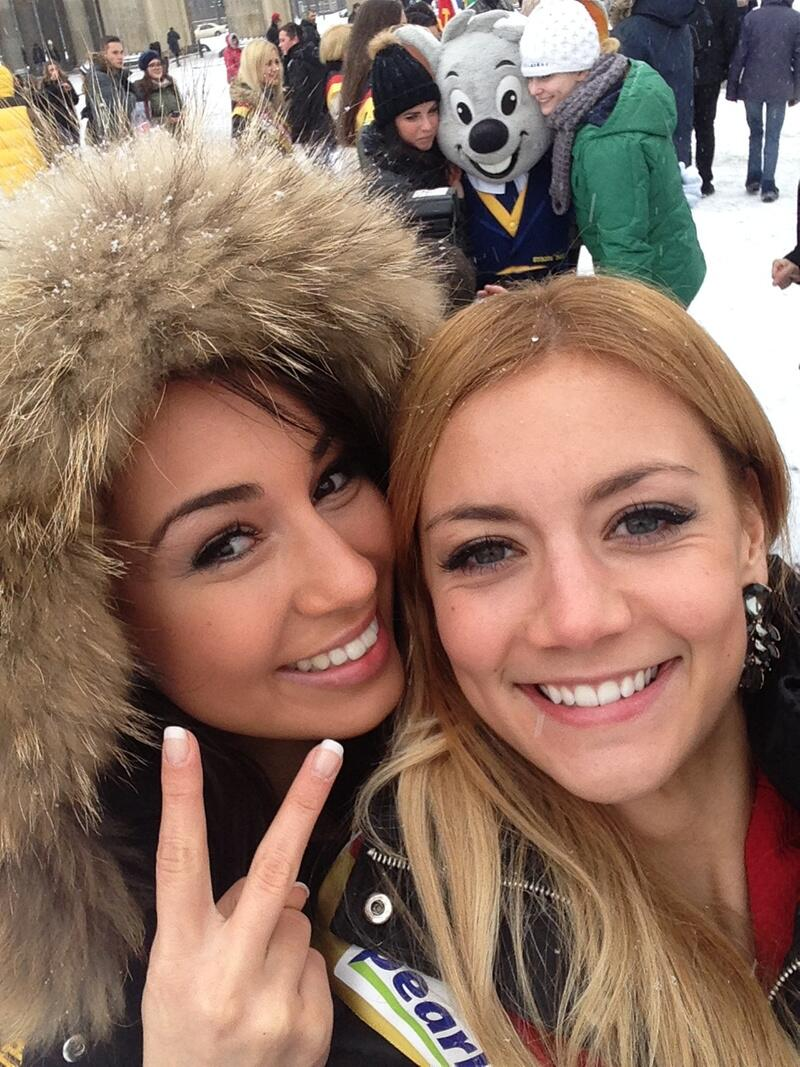 Bild zu Selfie am Brandenburger Tor