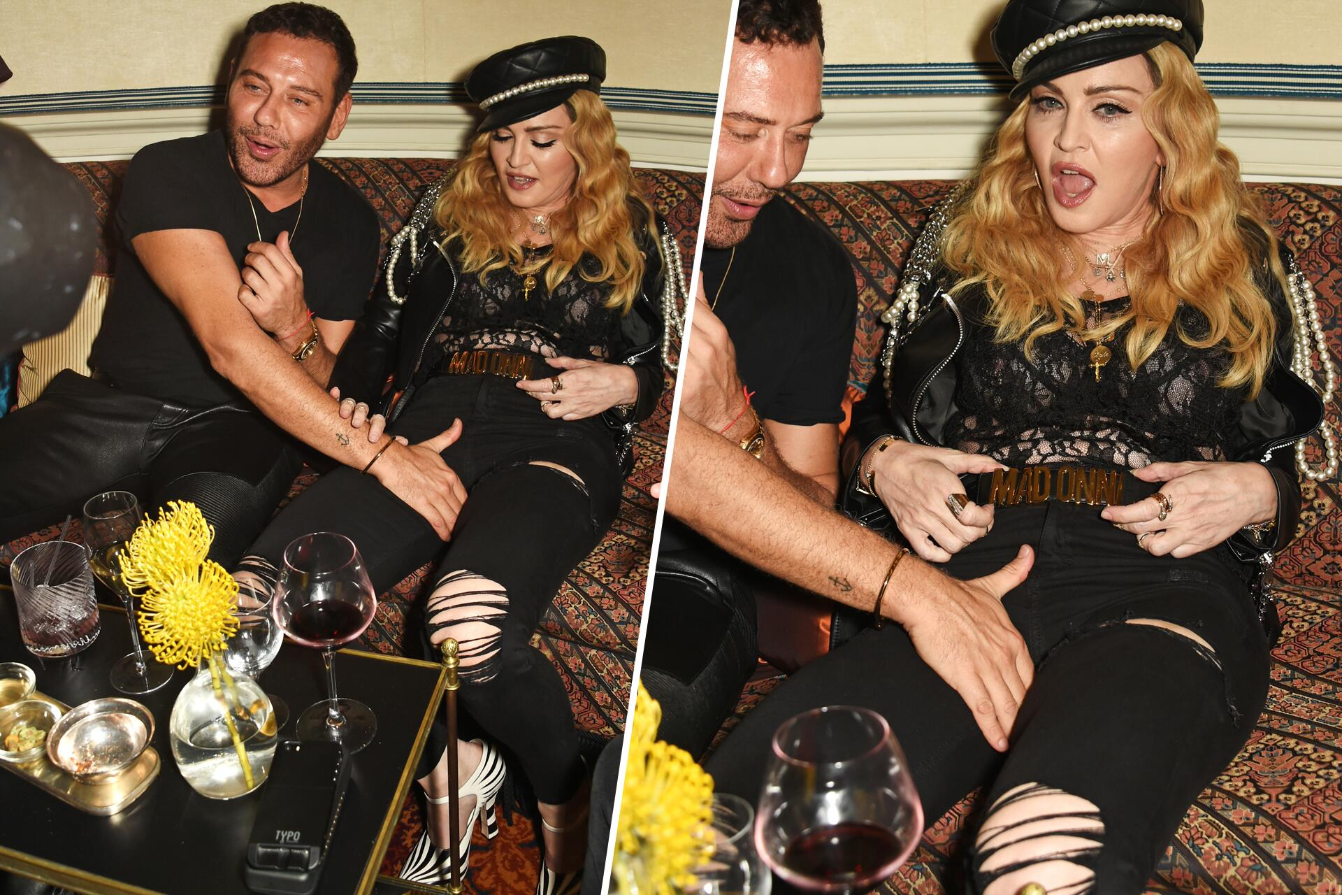 Madonna lässt sic...