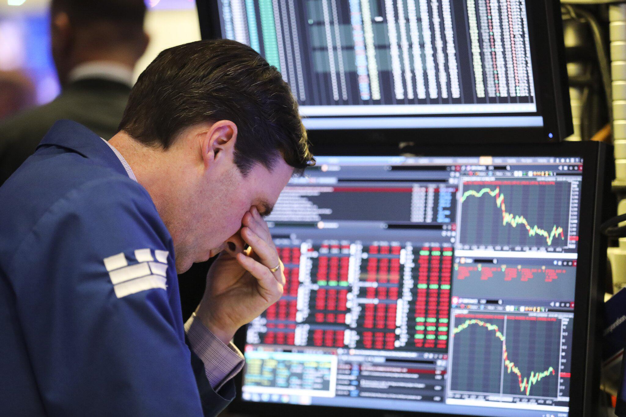 US-Wirtschaft - Dow Jones sackt nach Trump-Tweet ab