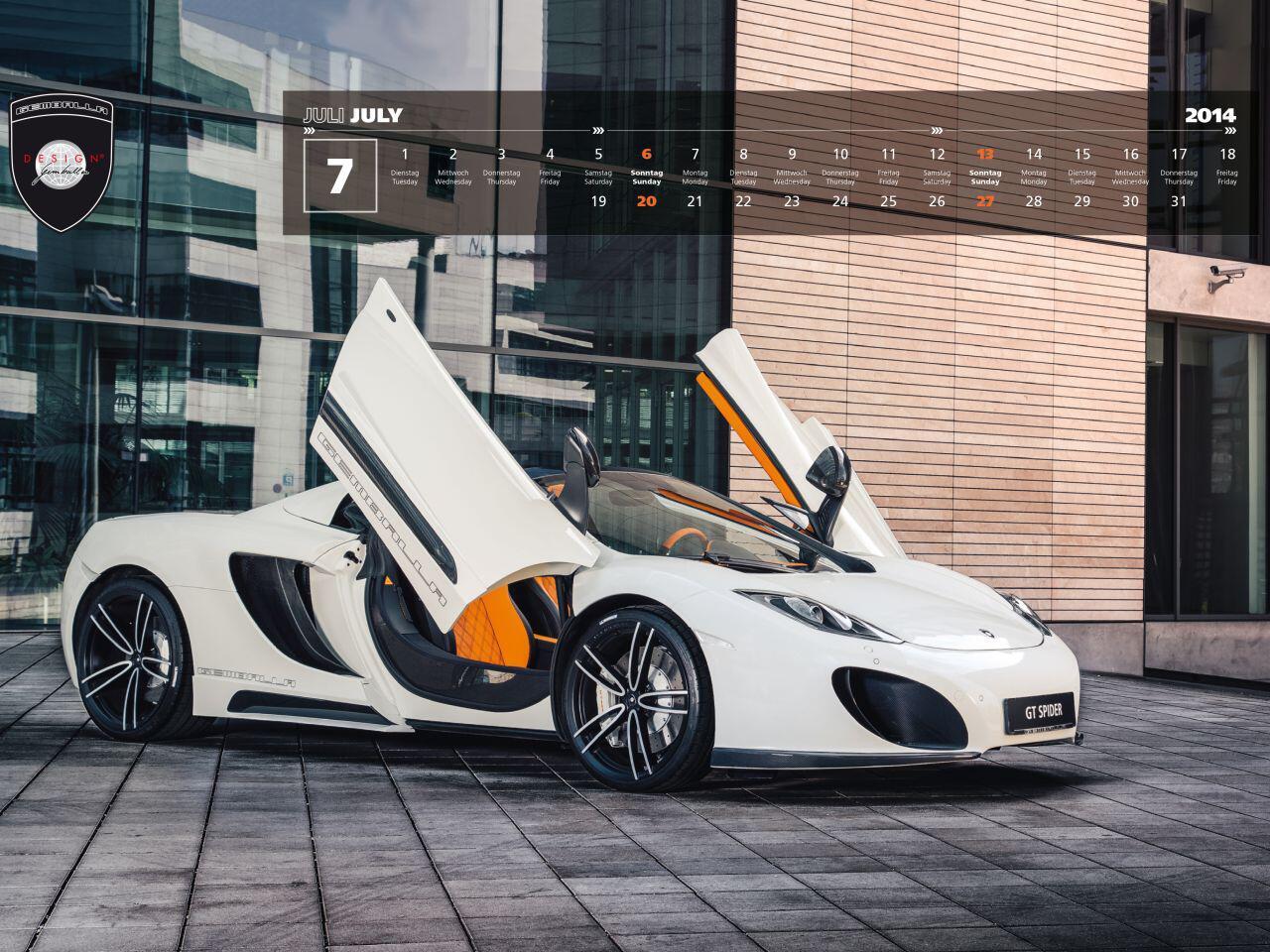 Bild zu Gembella Kalender 2014: Perfekte Porsche-Motive verpackt in einem Kalender
