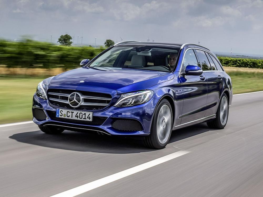 Bild zu Mittelklasse: Platz 2- Mercedes-Benz C-Klasse