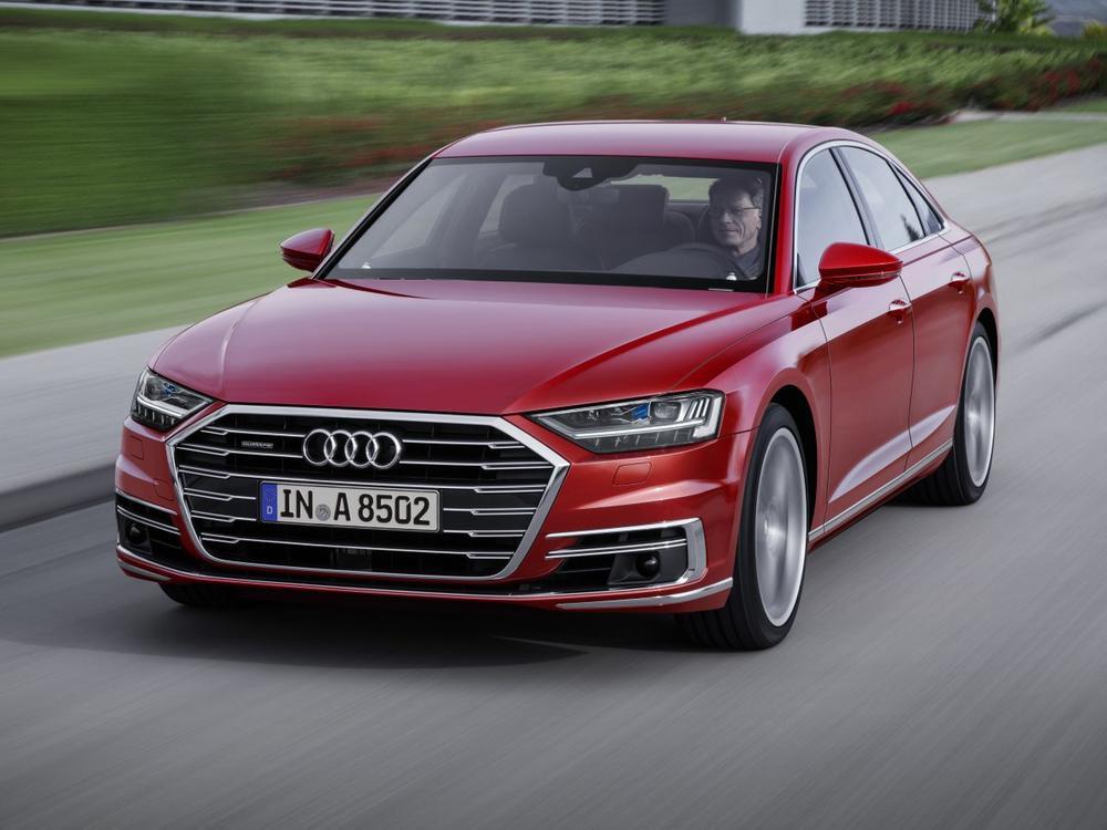 Bild zu Oberklasse: Platz 3 - Audi A8