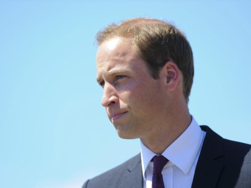 Bild zu Prinz William