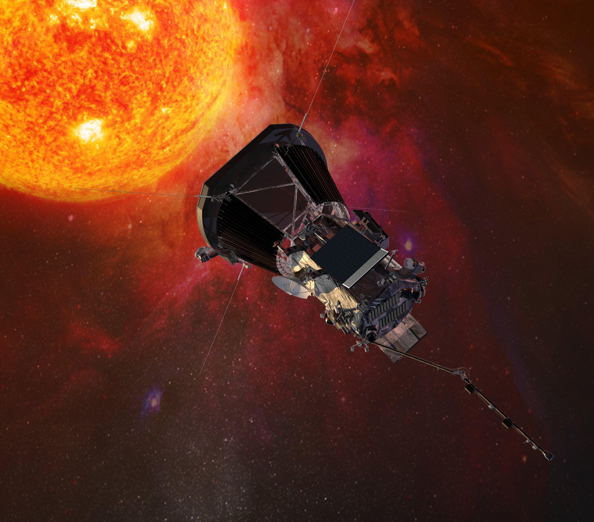 Bild zu «Parker Solar Probe»-Sonde