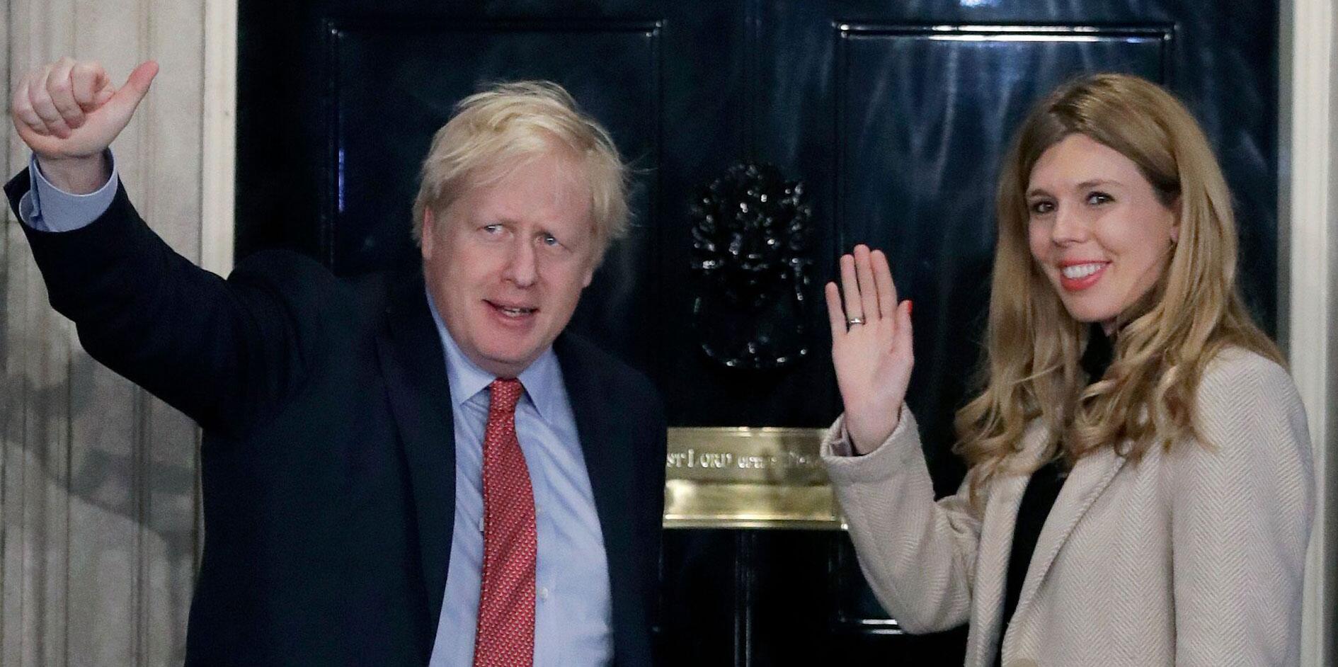 Bild zu Britischer Premierminister Johnson erneut Vater geworden