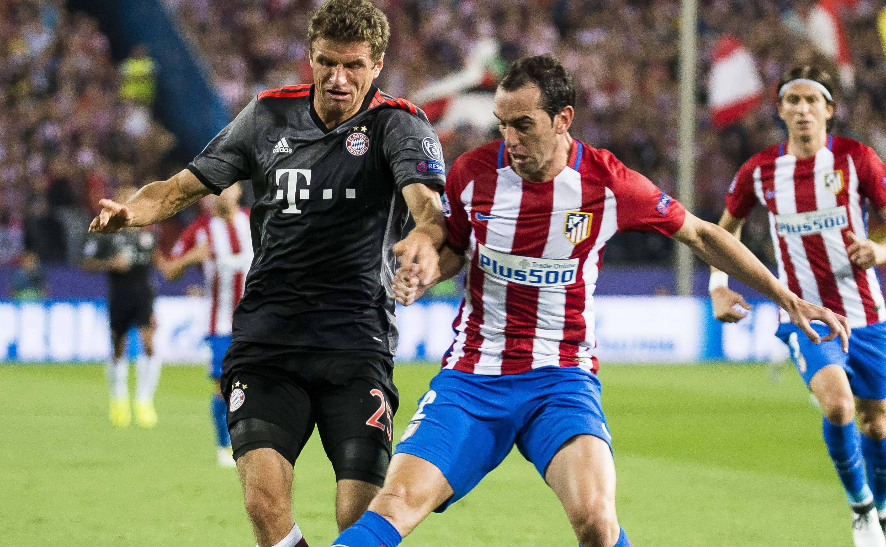 Bild zu Bayern, Atletico