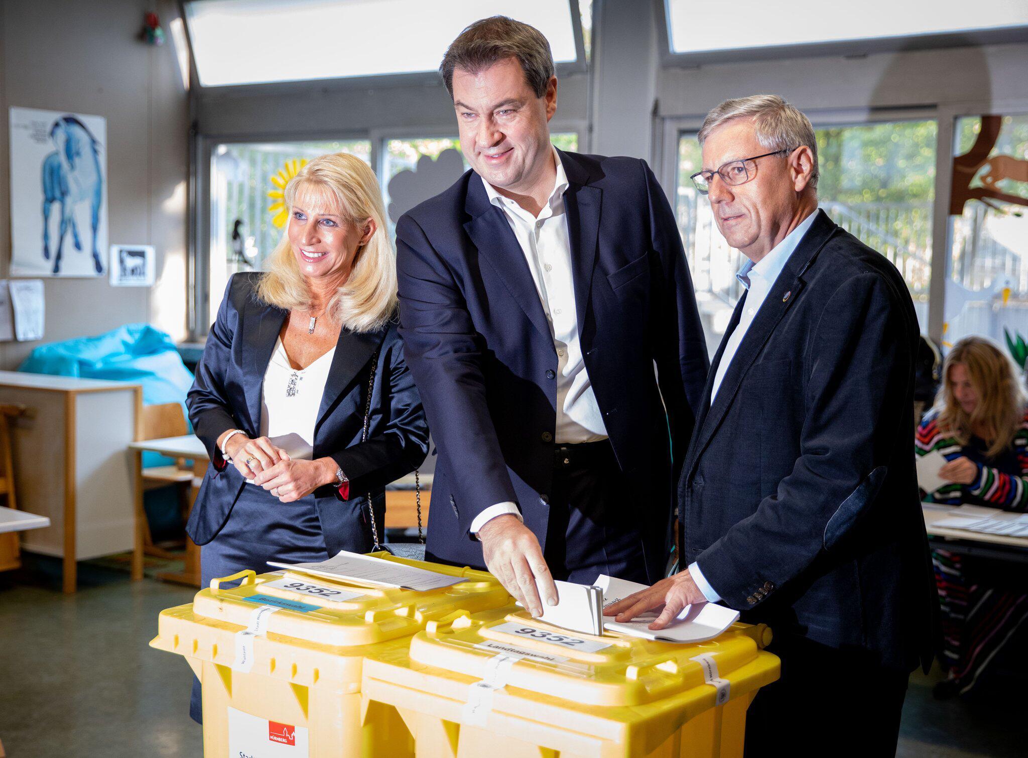 Bild zu State election in Bavaria