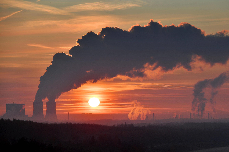 Bild zu Klimawandel, Kohlekraftwerk Lippendorf, Rauch, Qualm