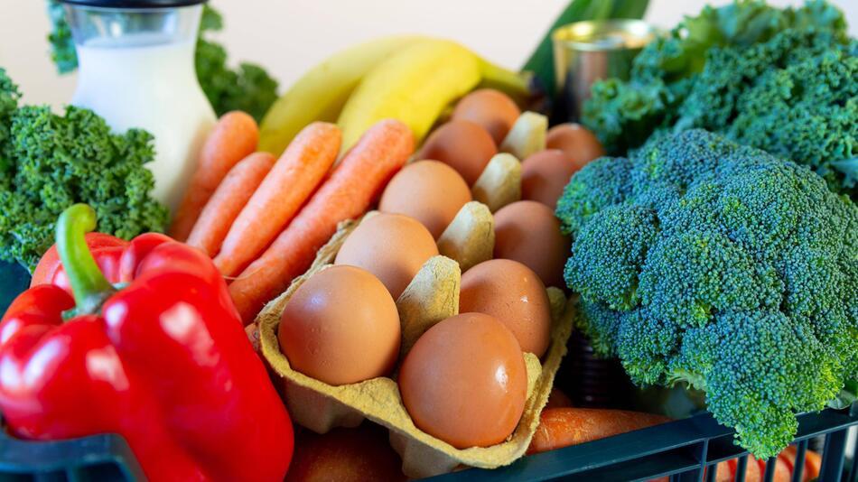 Lebensmittel, Online