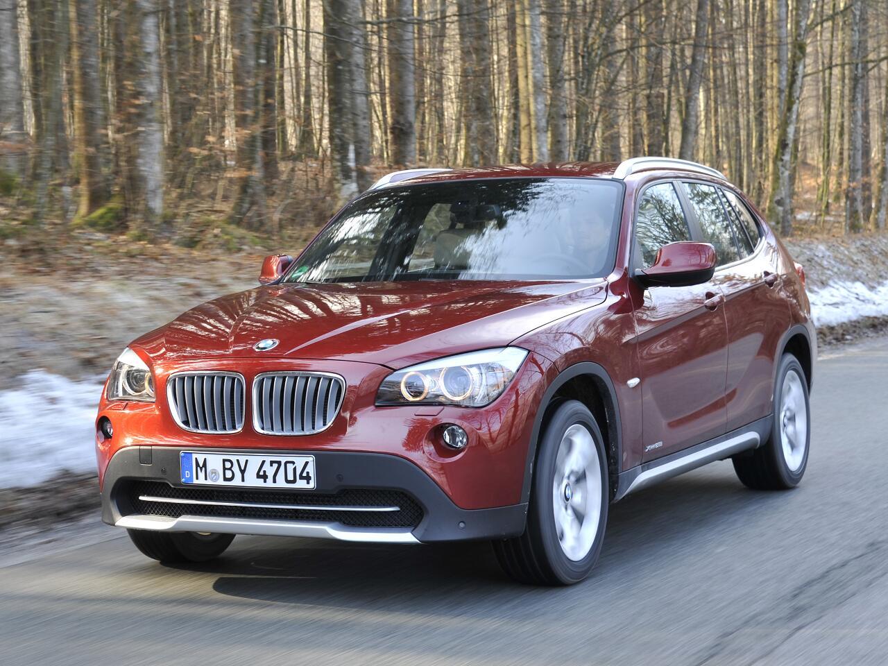 Bild zu 10. Platz: BMW X1