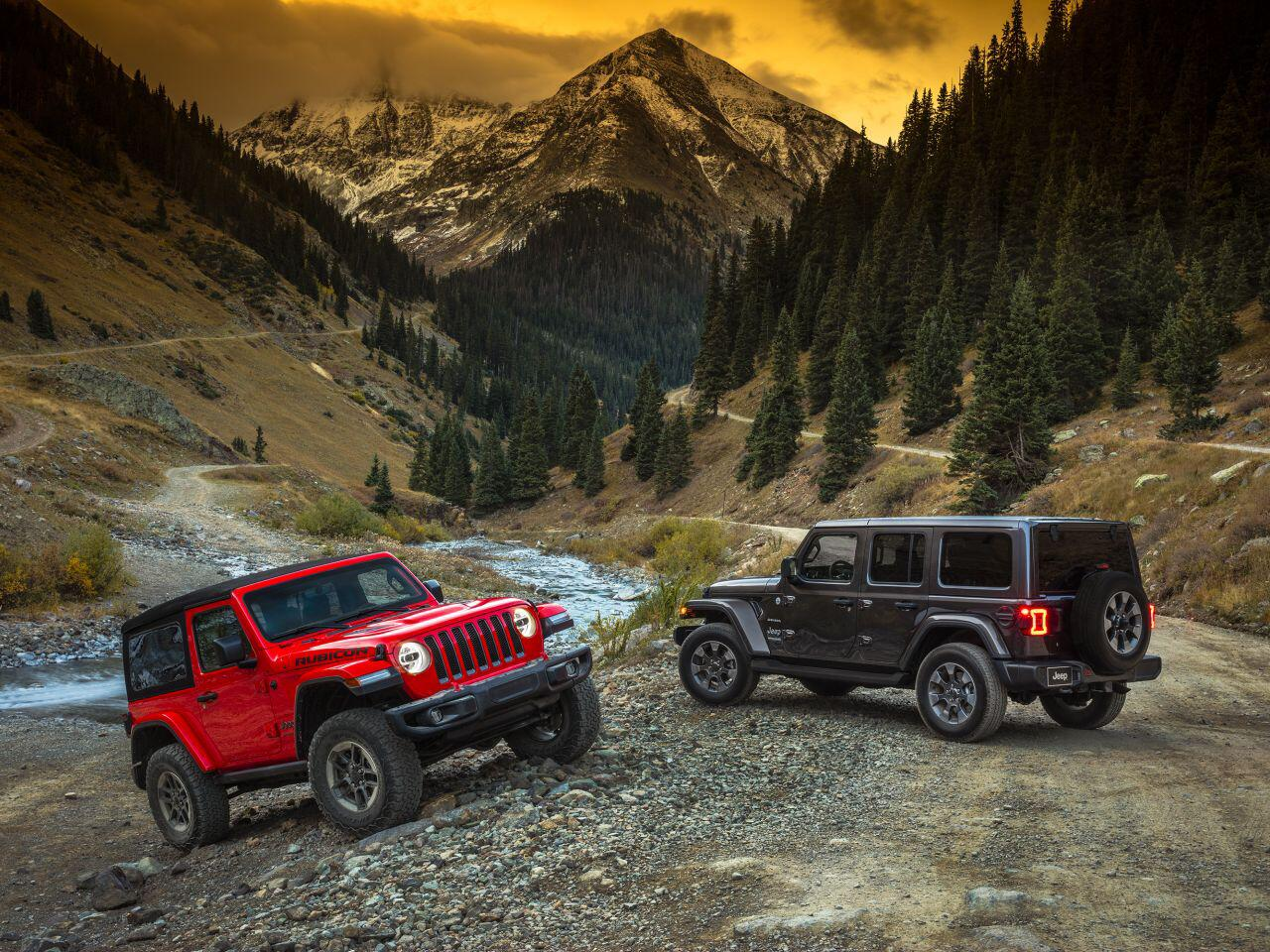 Bild zu Jeep Wrangler Rubicon und Jeep Wrangler Sahara