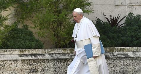 Gipfeltreffen zum Thema Missbrauch mit Papst Franziskus